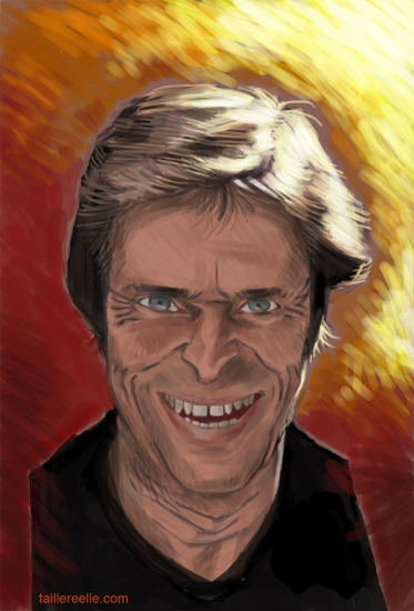Willem Dafoe by guillaume